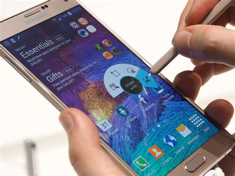 How to take a screenshot on the Samsung Galaxy Note 4