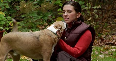 When a woman's dog licked her face, she never thought it