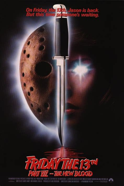 Friday The 13th Part VII: The New Blood (1988) Movie
