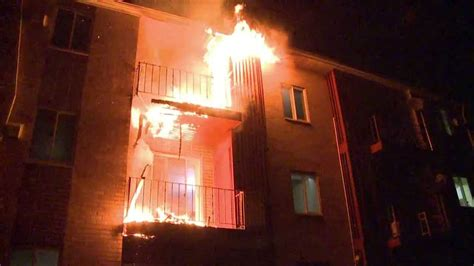 2nd Alarm Apartment Building Fire 900 Mickley Road