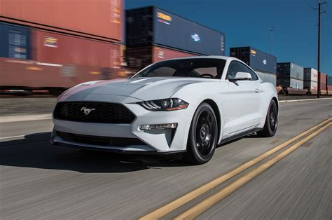 2018 Ford Mustang EcoBoost First Test: Chip On Its