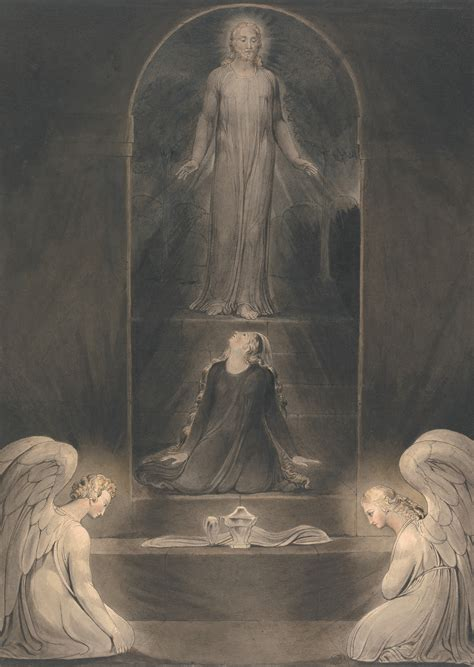 Image of the Month: William Blake, 'Mary Magdalen at the